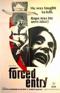 FORCED ENTRY de Shaun Costello, porno, viol, vétéran, Harry Reems, Laura Cannon, traumatisme
