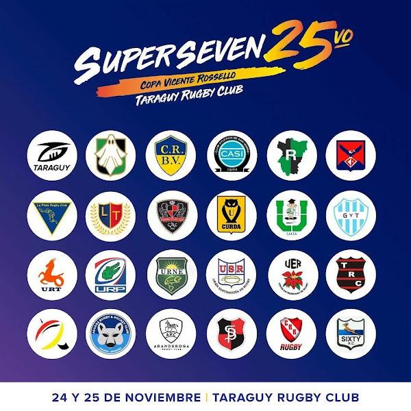 Súper Seven de Corrientes #SuperSeven de @TaraguyOficial