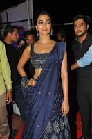 Pooja Hegde choli saree at DJ Duvvada Jaggannadham music launch ~  Exclusive 139.jpg