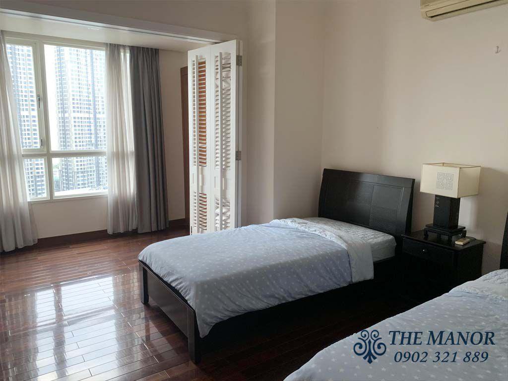 Giường ngủ căn hộ the manor 1 cho thuê 167m2