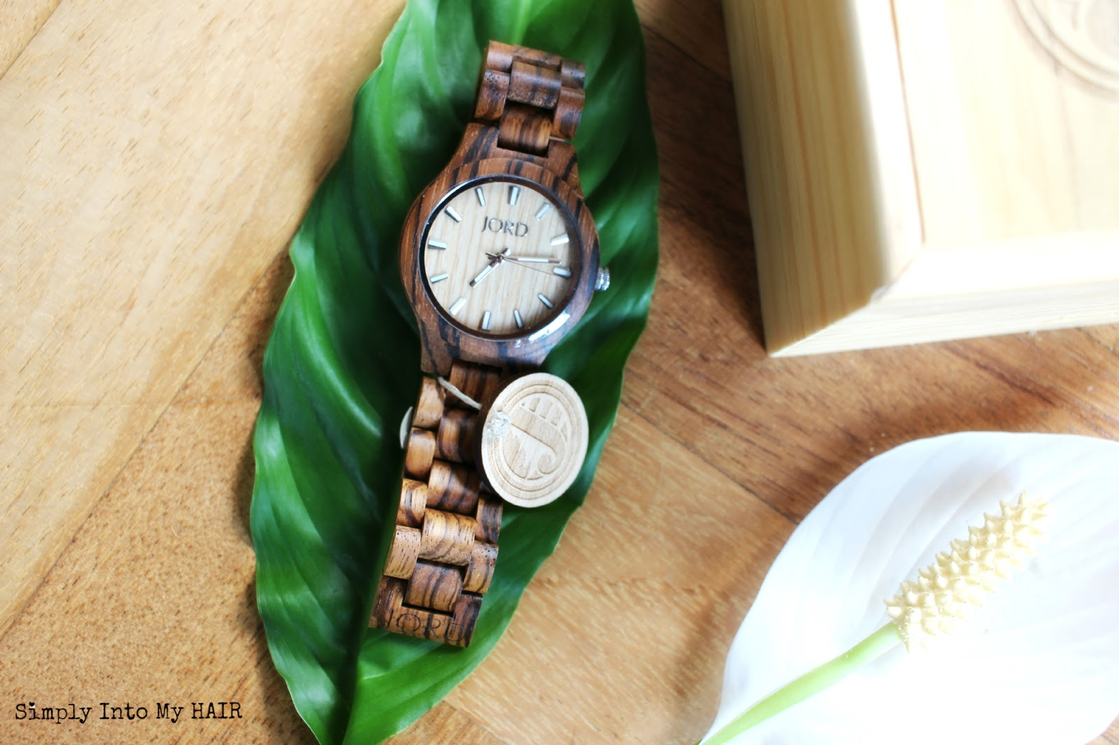 JORD Fieldcrest watch Zebrawood