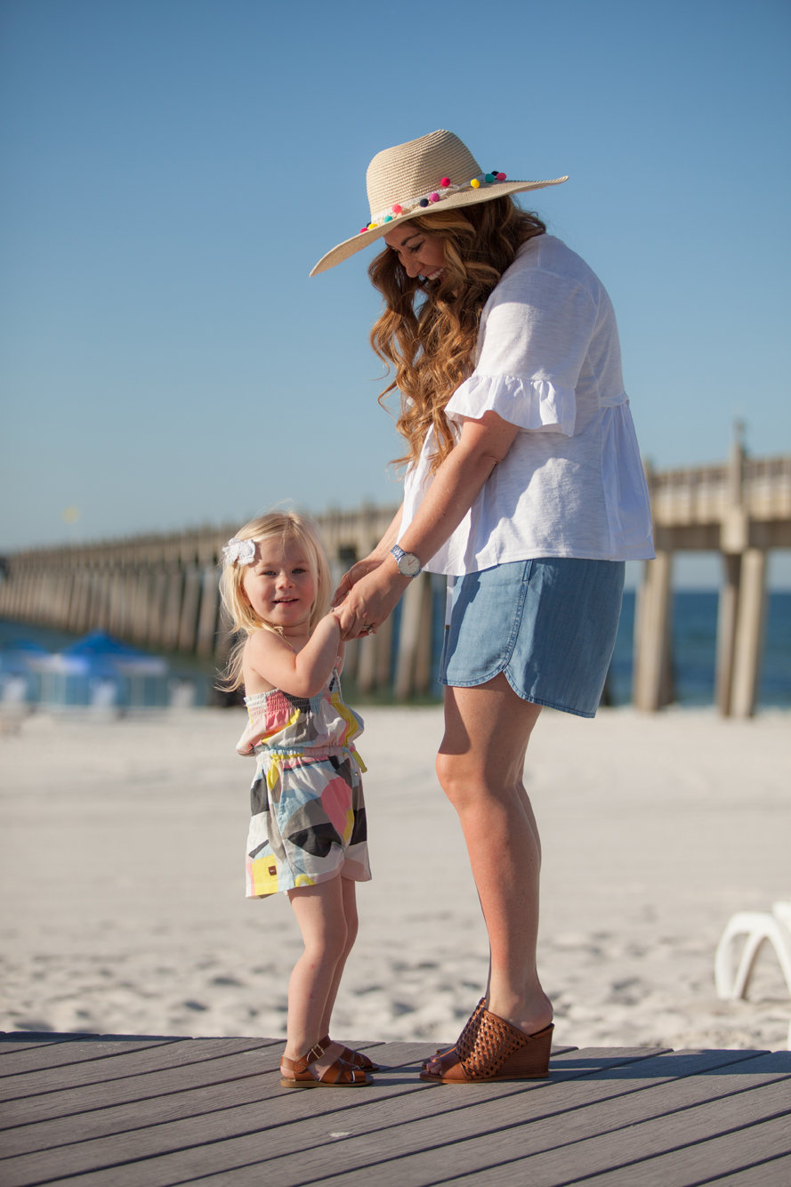 Trend Spin Linkup & Mamas & Minis Collective - Vacation Wear  by fashion blogger Laura of Walking in Memphis in High Heels