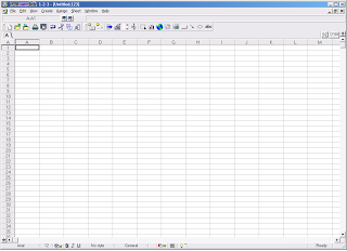 Lotus 1-2-3, salah satu Software Spreadsheet yang beredar di masyarakat