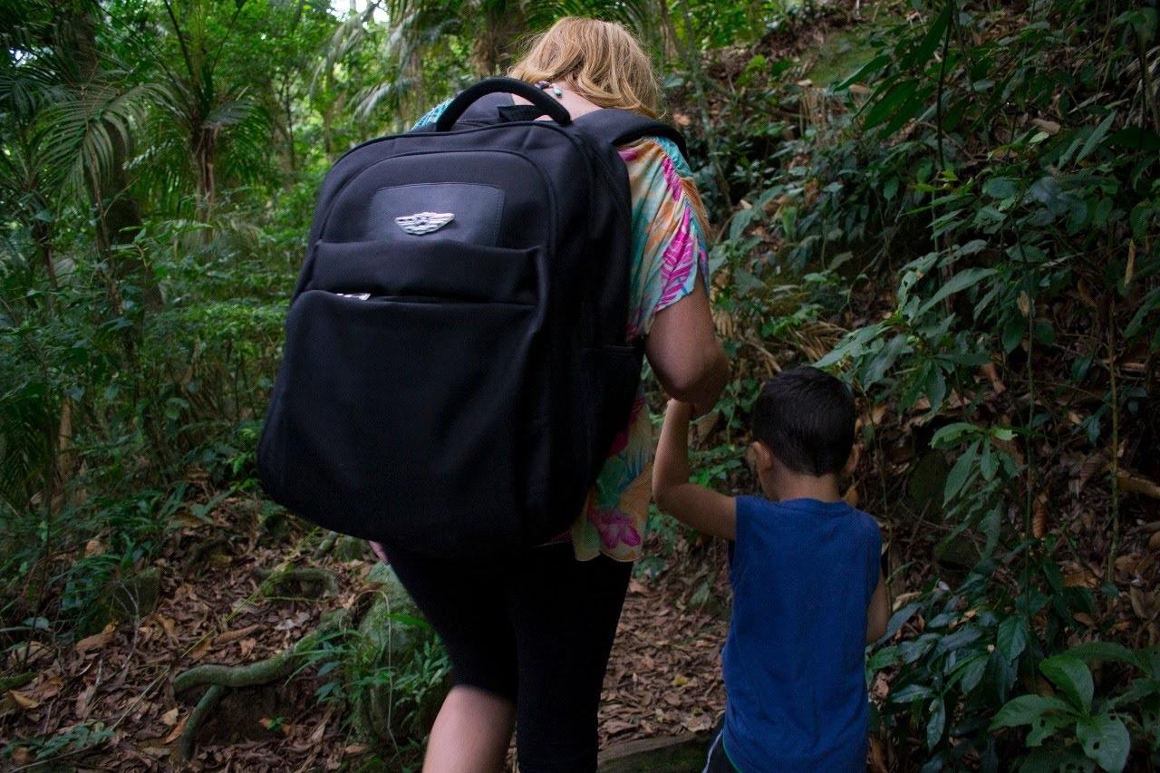 Eu e Ben na Floresta