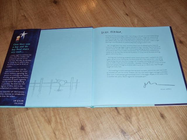How To Catch A Star by Oliver Jeffers Book inside cover