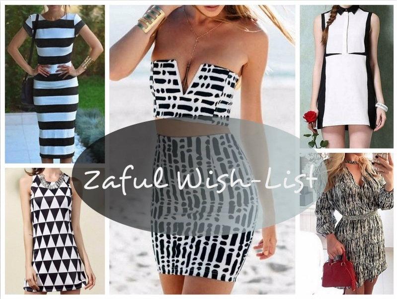 ZAFUL Wish-List: Black-White Dress