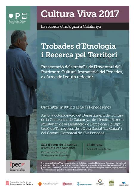 Esguard de Dona - Trobada d'Etnologia i Recerca pel Territori - Vilafranca del Penedès, 14 de juny 2017