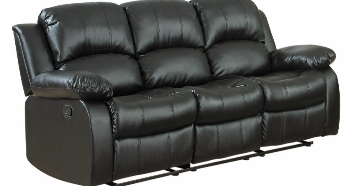 Best Reclining Sofa For The Money: Leather Sofa Reclining ...