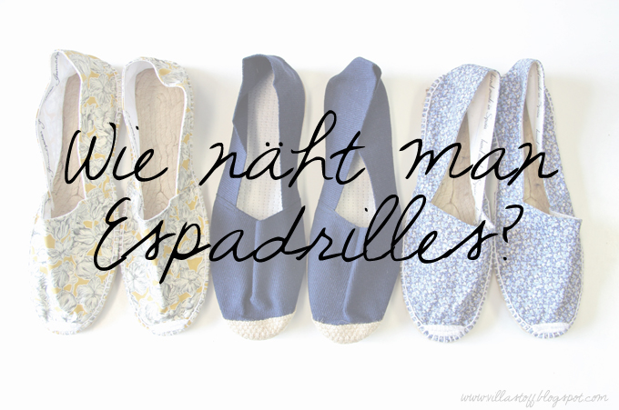 DIY don't BUY | Espadrilles selbermachen