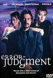 Watch Error in Judgment Online Free 1999 Putlocker