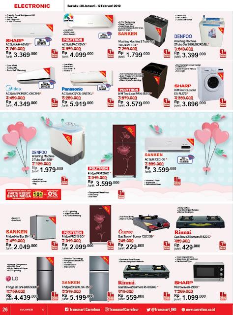 Katalog Promo Transmart Carrefour Sulawesi Edisi 30 Januari Sampai 12 Februari 2019