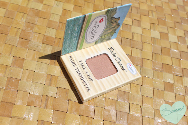 THE BALM | Balm Desert Bronzer/Blush - Birchbox July 2015 Review Beach & Bright | theBalm Balm Desert Blush/Bronzer