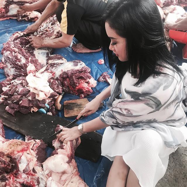 Inilah 5 Artis Indonesia yang Mau Ikut Serta Saat Penyembelihan Hewan Kurban