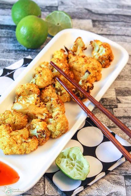 Blumenkohl Snack mit Curry
