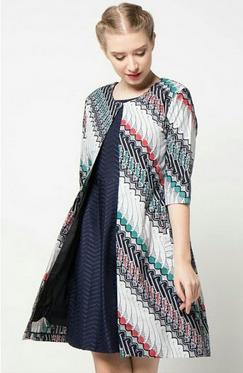 baju batik terbaru wanita 2019