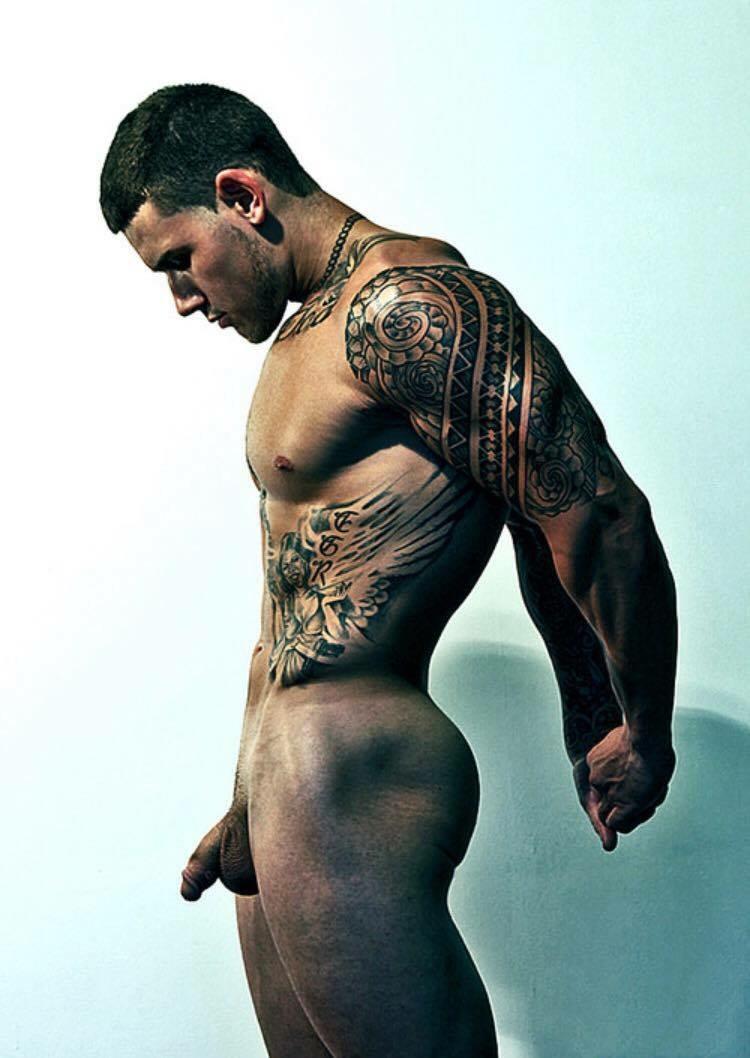 Gay Naked Model 97