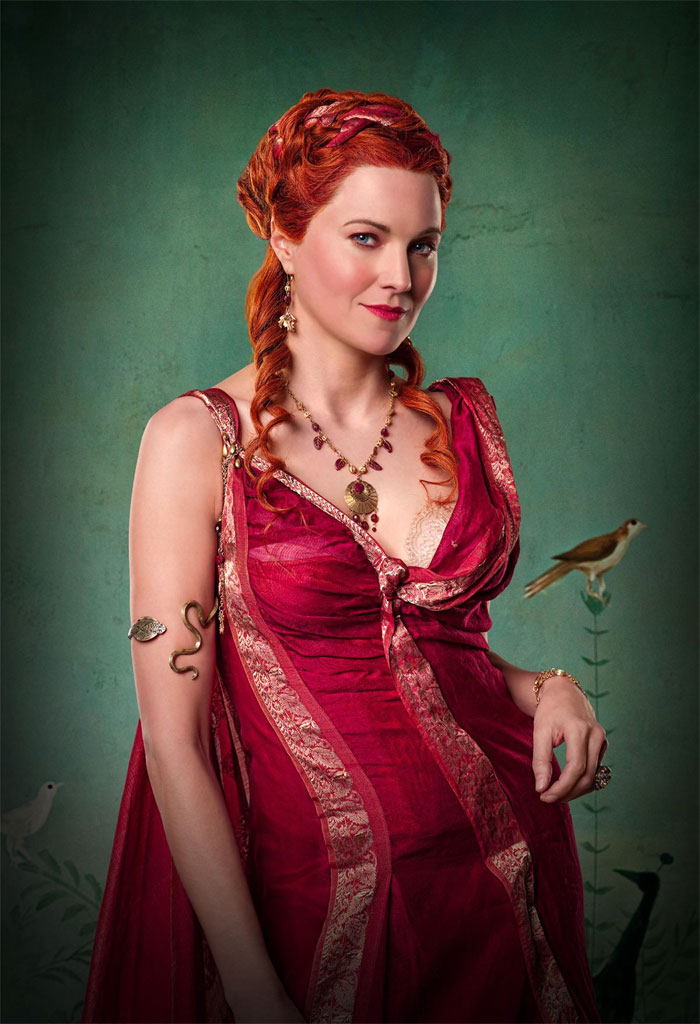 Lucy Lawless Spartacus