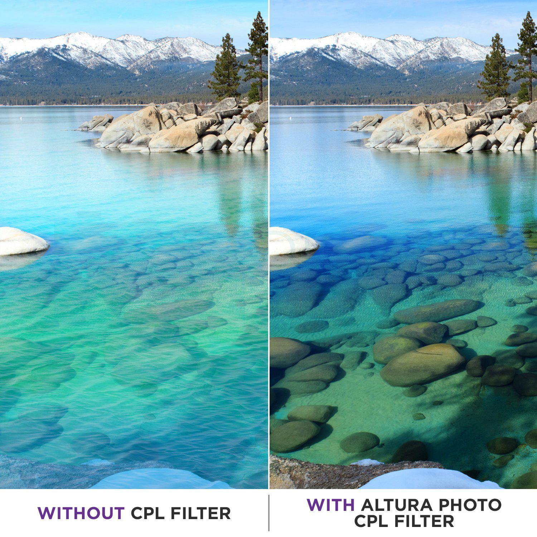 Motret Pakai CPL efek dari filter CPL
