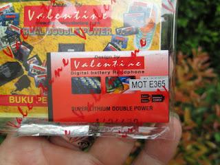 Baterai Hape Jadul Motorola E365 Valentine