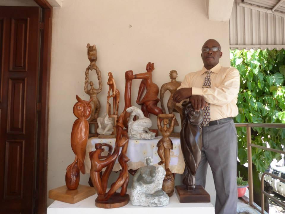 Roberto Herrera. Sculpture. Santo Domingo