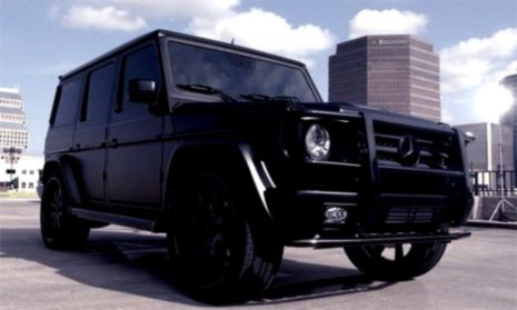 Matte Black Mercedes G Wagon | Wallpapers 1080p