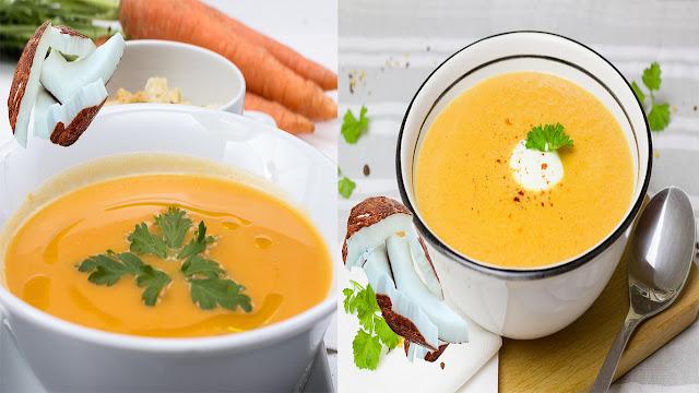 Como Hacer Crema de Zanahoria y Coco fácil y rápido