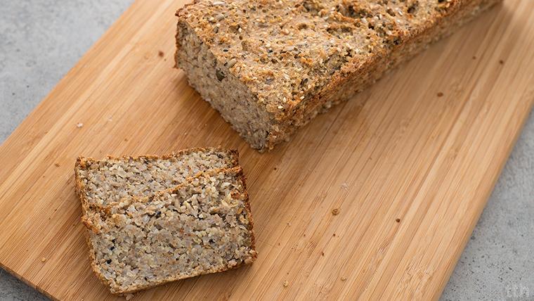 chleb z kasz bezglutenowy wegański blog roślinny
