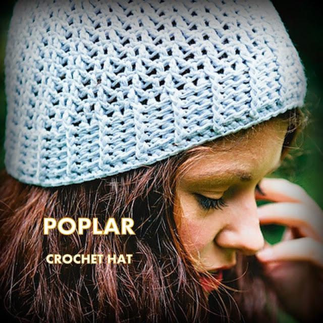 autumn hats, spring hats, poplar hat, adult hats, crochet patterns,