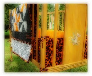 Gina Scustomcreations Harley Davidson Themed Crib Quilt