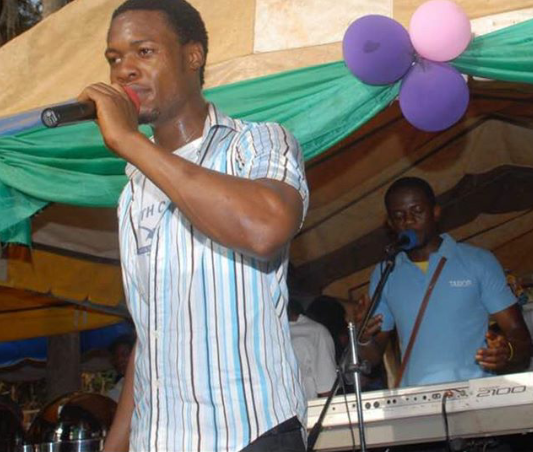 Wow! See what singer Flavour looked like before the fame