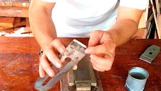 Afilar cuchilla