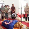 H.Alwi Hamu Hadiri Pelepasan Jenasah Almarhum Dahlan Kadir