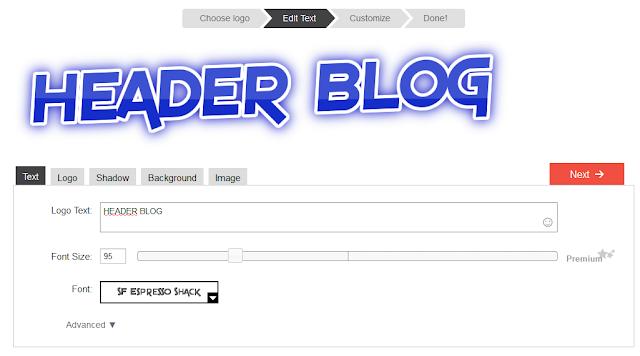 Membuat Header Blog dengan Gambar atau Logo Image