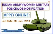 Join Indian Army Vs Woman Military Police 2019 - assamlatestjob