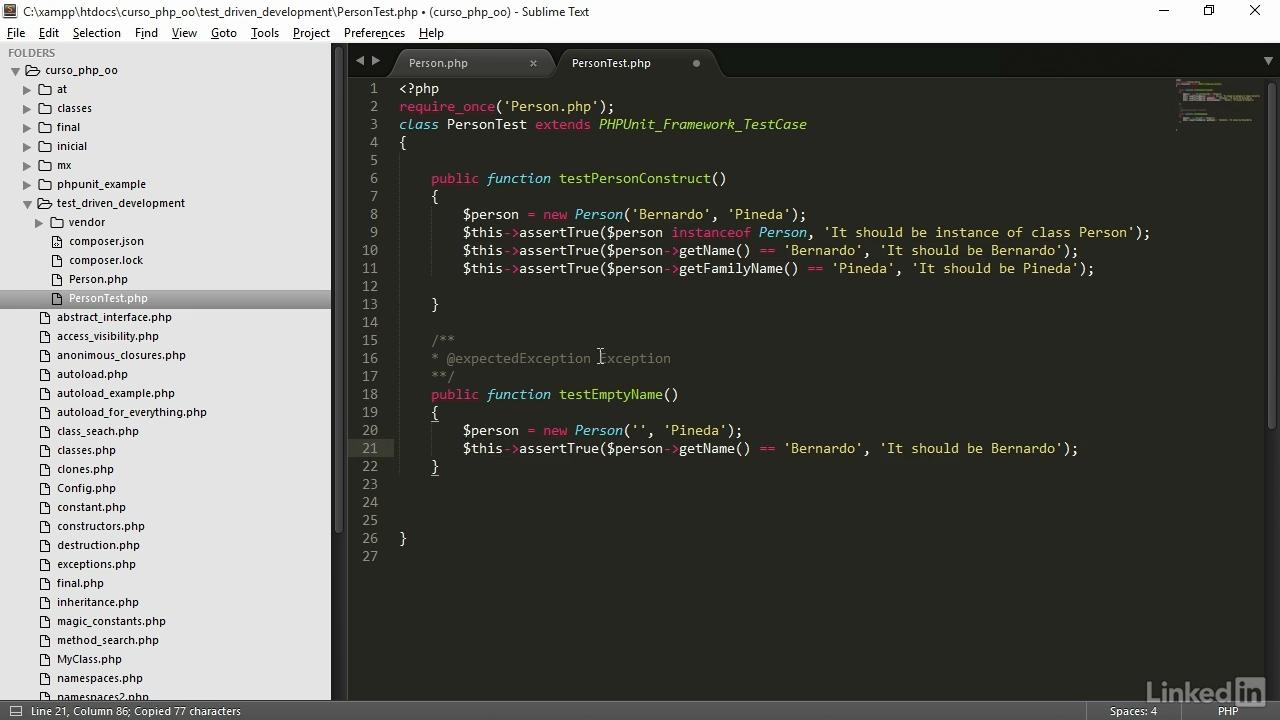 Portada V2B PHP orientado a objetos