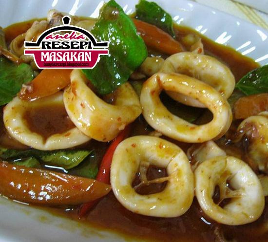 Resepi Paprik Sotong Sedap http://banyakresepi.blogspot.my/