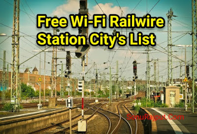 Free Wi-Fi Railway Station list