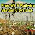 100 City's Provide Free Wi-Fi Internet Railwire In Railway Station