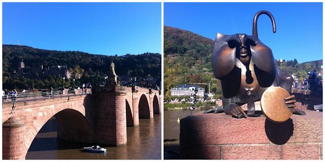 Alemanha: as pontes mais fantásticas! Alte Brücke, Heidelberg