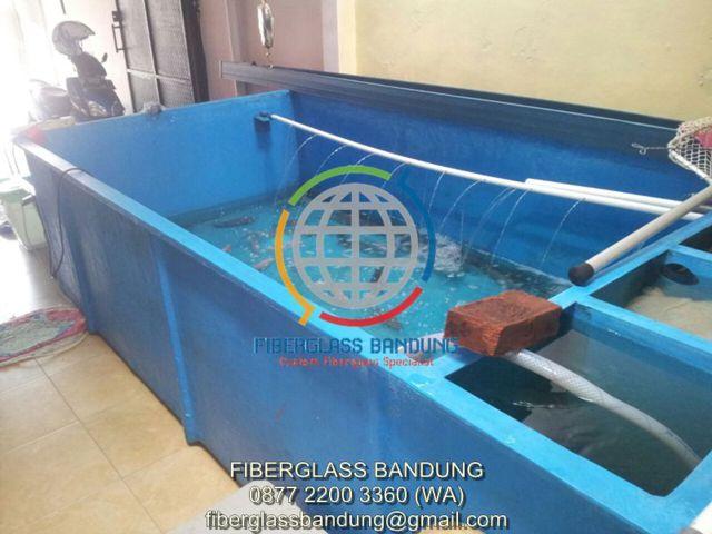 kolam ikan fiber