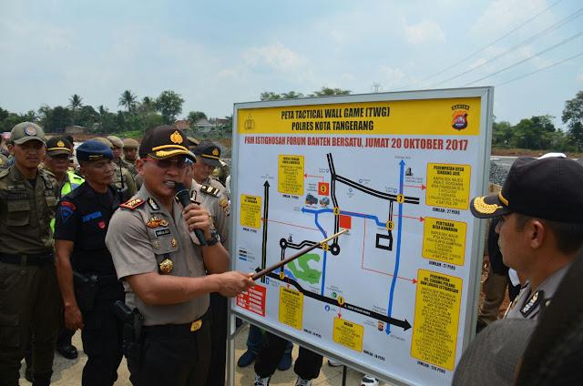 Tim Gabungan Polresta Tangerang Amankan Komplek Suvarna Sutra