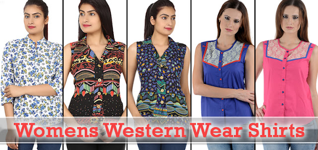 Indian Ladies Western Wear Outfit Shirts, Leggings, jeggings and Skirts and tops Online Shopping with Discount Offer and COD