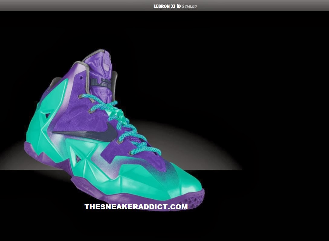 separation shoes 533db 8a31d ... NIKEiD Lebron 10 Custom Sneaker and order with Free Shipping HERE! Peep  images of the Lebron 11 ID including W  Glow in the dark options after the  jump.