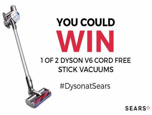 Sears Dyson Cord Free Stick Vacuum Contest