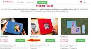 pilihan paket idphotobook