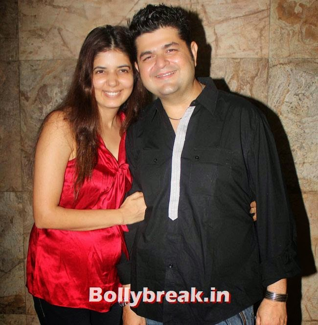 Manisha Ratnani and Dabboo Ratnani