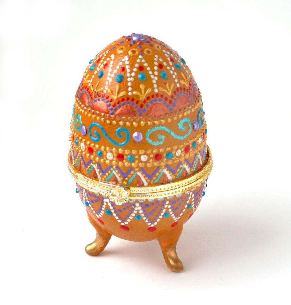 Украшаем пасхальные яйца своими руками
