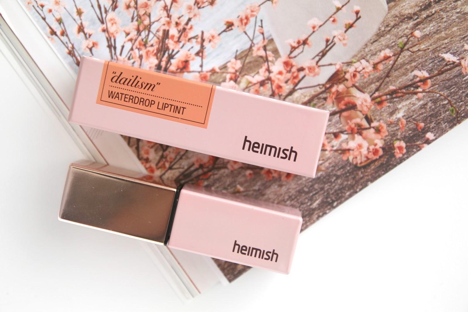 Review | Heimish Dailism Water Drop Lip Tint #Mild Day ...