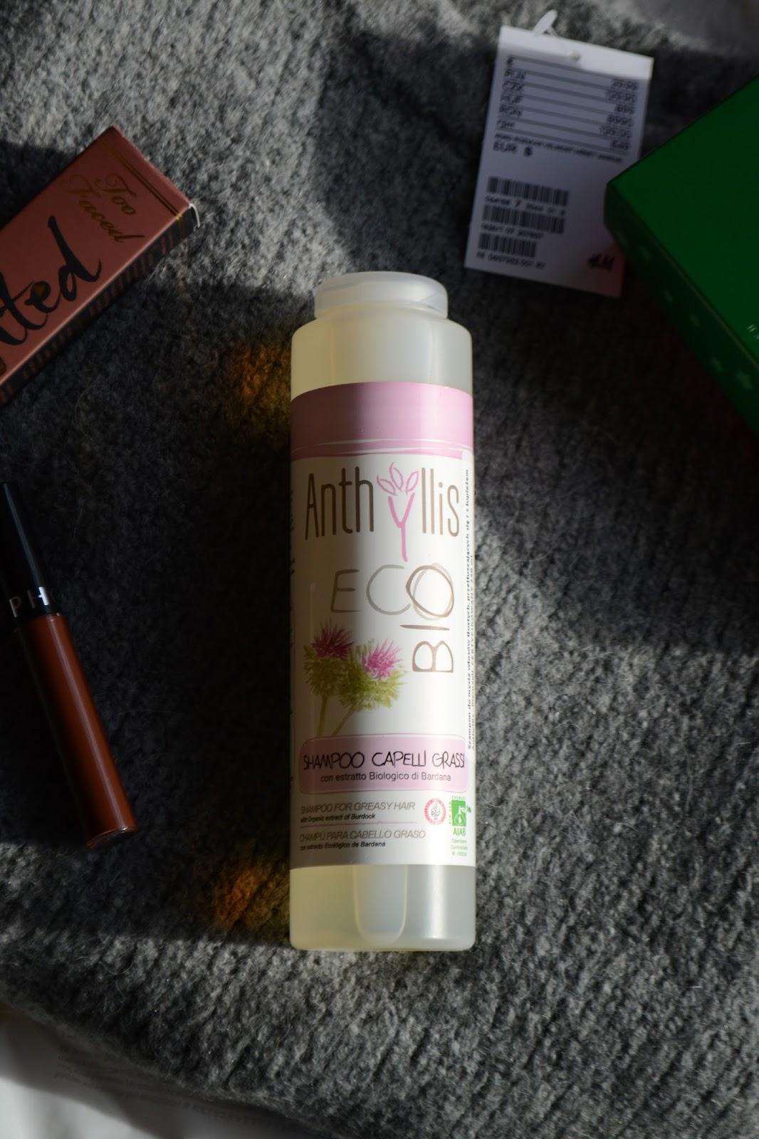 Zamiennik szamponu Normalizującego Vianek - bestseller dla przetłuszczających się wlosów. Szampon Anthyllis z łopianem