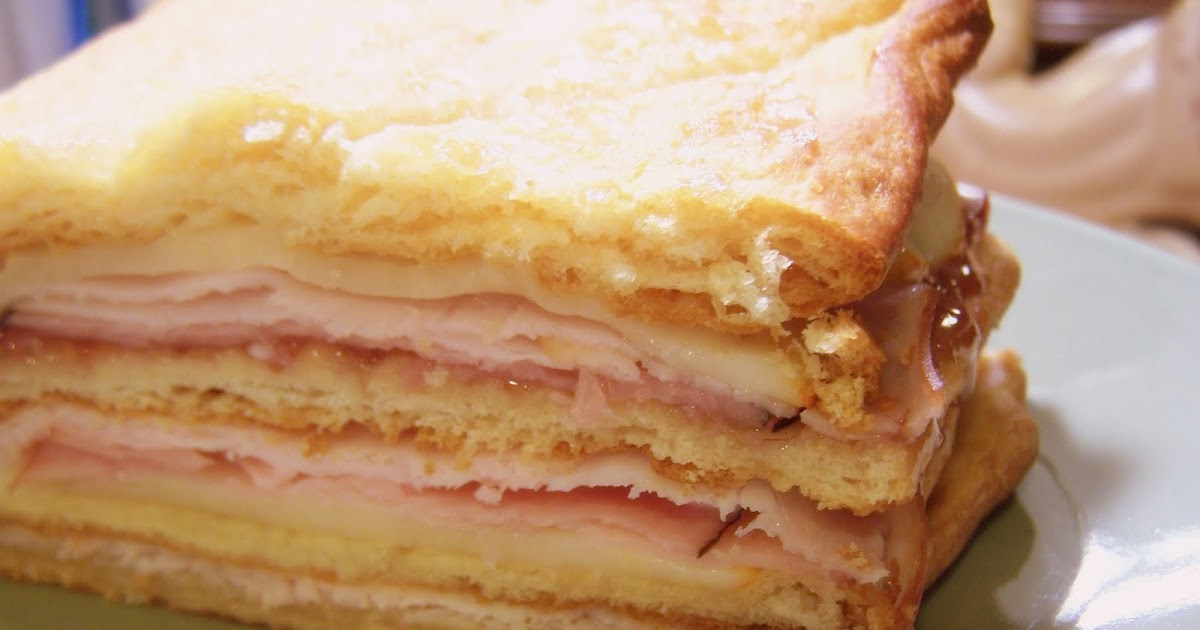 The Peppered Pantry Crescent Cristo Sandwich Loaf